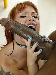 Curvy mature skank gets pussy plowed by a one hung black guy.18+